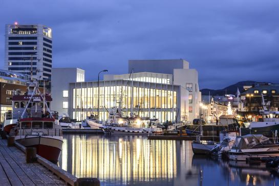 Stormen bibliotek i Bodø